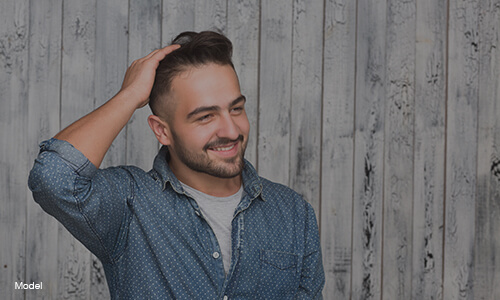 hair restoration featured model